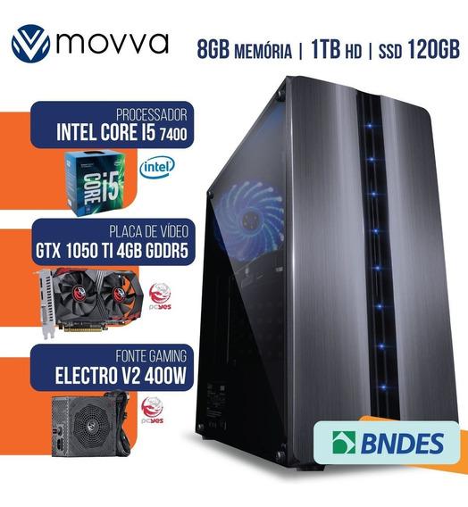 Computador Gamer Completo Barato I5 7400 Gtx 1050 Ti Hd/ssd