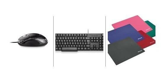 Acessórios Para Pc Teclado+mouse Óptico+mouse Pad Multilaser