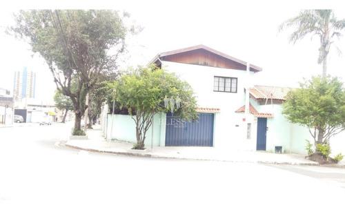 Casa Residencial Ou Comercial Em Esquina Para  Venda, No Bairro Da Vila Arens Ii, Jundiaí. - Cm00091 - 34518557