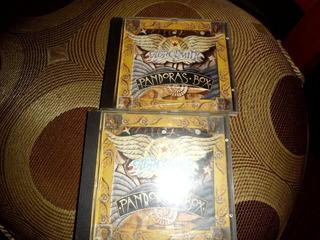Aerosmith 2 Cds Pandora Box 1 Y 3