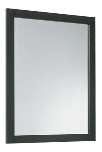 Imagen 1 de 4 de Espejo Ferrum Armónica Marco Wengue/blanco 72x57cm Xeda