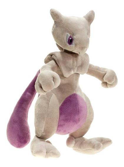 Pelúcia Turma Pokémon Mega Mewtwo (25 Cm) - Importada