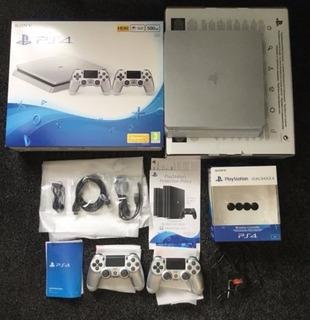 Consola Sony Ps4 Slim Plata 500gb Edición Limitada