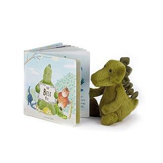 Jellycat El Mejor Libro De Cartón Para Mascotas Y Bashful Di