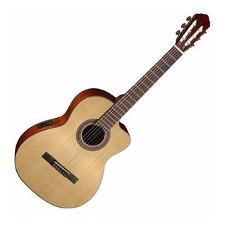 Guitarra Clasica Cort Ac120 Ce Op Con Funda