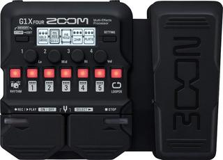 Zoom G1x Four Pedalera Multiefecto Para Guitarra Eléctrica Con Pedal De Expresión