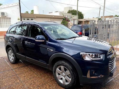 Chevrolet Captiva 2017 Lt 2.4 Nafta 4x4 -  7 Asientos