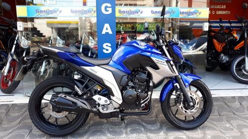 Imagem 1 de 9 de Yamaha Fz 25 Fazer 250 Flex Abs 2020 Azul Garantia Fábrica