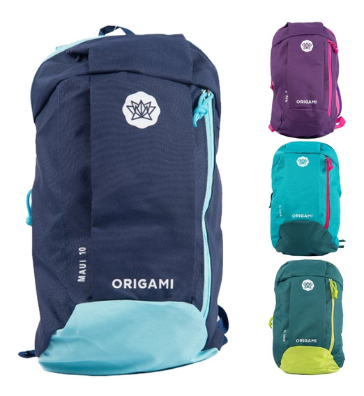 Mochila Urbana Deportiva Origami 10 Litros Hombre Mujer Niño Viaje Low Cost