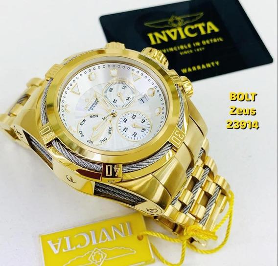 Relógio Invicta 23914 Bolt Zeus - Original - Frete Grátis