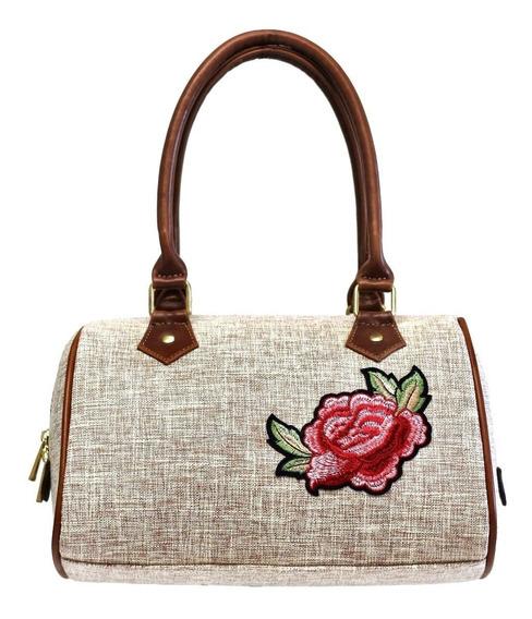 Bolsa De Dama Diseño Casual Bordado Flor