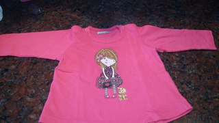 Remera Mangas Larga Nena De Cheeky, Talle Xl