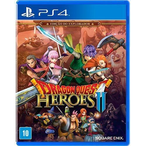 Dragon Quest Heroes 2 Edição Do Explorador Ps4 Mídia Física