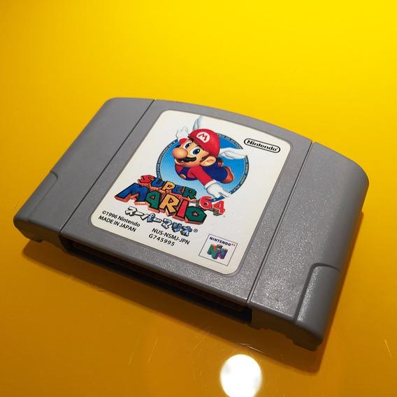 Cartucho Original Nintendo 64 - Super Mario 64 (japonês)