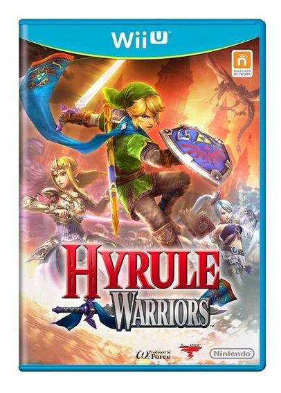 Hyrule Warriors Wii U Mídia Física Pronta Entrega