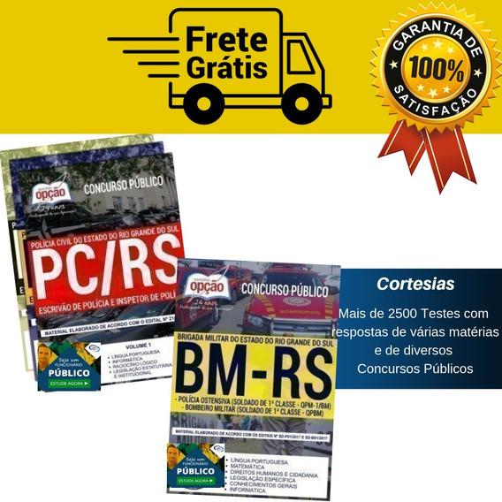 Kit Apostila Polícia Civil E Brigada Militar Rio Grande Sul