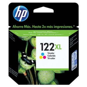 Cartucho De Tinta - Hp 122xl - Tricolor - Ch564hb