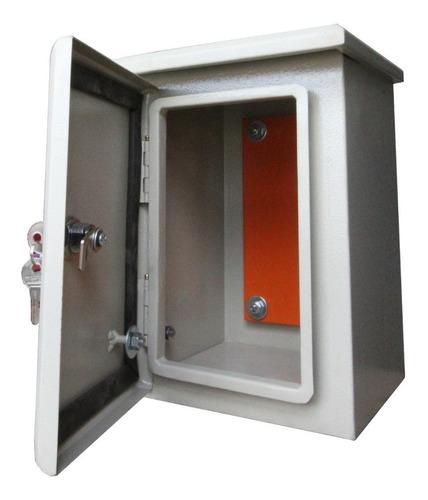 Caja Cofre Metálico Hermetica 60x50x25 Certificado Retie F.r