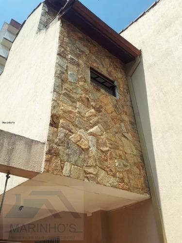 Imagem 1 de 15 de Sobrado Para Venda Em Mauá, Jardim Santista, 3 Dormitórios, 1 Suíte, 2 Banheiros, 7 Vagas - 342_1-1930062