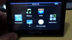 Gps Foston Com Atualizador Automatico 200,00