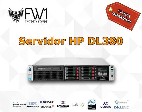 Duas Unidades Server Hp Dl380 P G8 2x E5-2665 32gb 2x 300sas