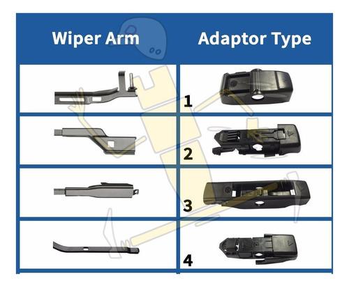 Escobillas AEROTWIN multi-clip