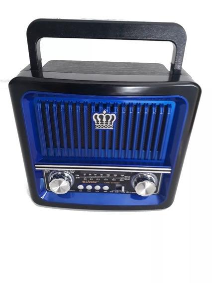 Radio Livstar Recarregavel 3140bt Bluetooth Am/fm Pen Drive