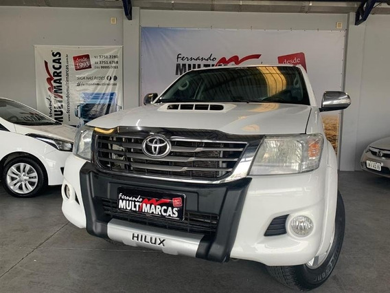 Toyota Hilux Cd 4x4 Srv - Automática