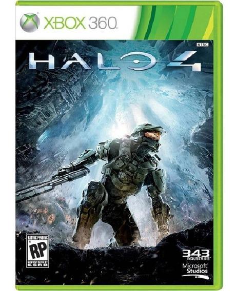 Halo 4 Xbox 360 Fisica Lacrado Totalmente Português Barato