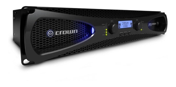 Amplificador De Áudio Profissional Crown Xls 2502 Rev Ofic