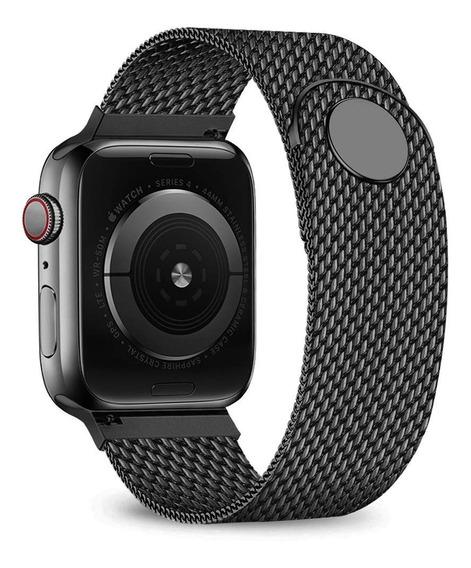 Correa De Malla De Acero Inoxidable Para Apple Watch 1-5