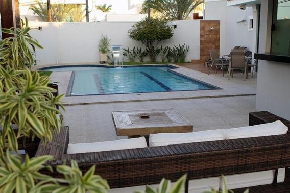 Casa Em Aeroporto, Araçatuba/sp De 390m² 4 Quartos Para Locação R$ 8.000,00/mes - Ca346917