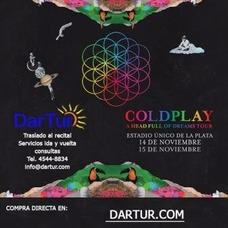 Traslados Al Recital Coldplay 2017 En Estadio Unico La Plata