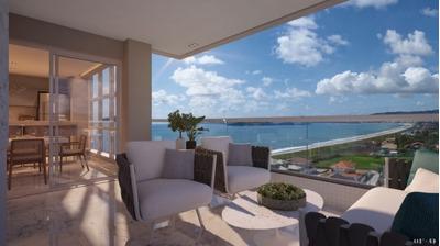 Apartamento Em Itacolomi, Piçarras/sc De 129m² 3 Quartos À Venda Por R$ 1.243.559,00 - Ap67526