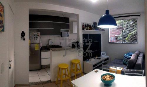 Aconchegante Apartamento Com 2 Dormitórios À Venda, 52 M² Por R$ 240.000 - Jardim Nova Europa - Campinas/sp - Ap2209
