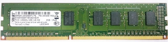 Memoria Smart Ddr3 2gb Pc10600 1333 Mhz Desktop Com Garantia