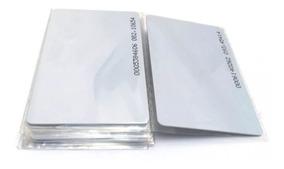 Cartão Rfid 125khz (10 Unidades) Pvc/token De Aproximação