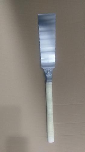 Hoja de Sierra de Repuesto 12,5 Pulgadas DEDC Sierra japonesa Ryoba de corte doble con 2 dientes diferentes sierra fina para artesan/ía e industria