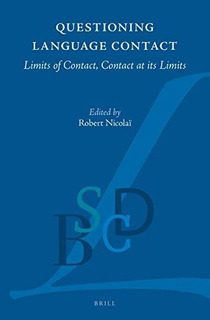 Questioning Language Contact : Robert Nicolai