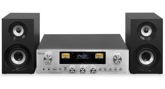 Receiver Concert One Raveo Phono Aux Fm Cd Mp3 Usb Bluetooth