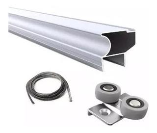 Puerta P/ Kit De Placard Aluminio Classic Grupo Euro