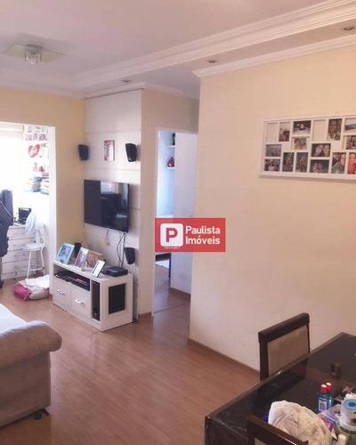 Apartamento À Venda, 50 M² Por R$ 280.000,00 - Jardim Marabá(zona Sul) - São Paulo/sp - Ap28322