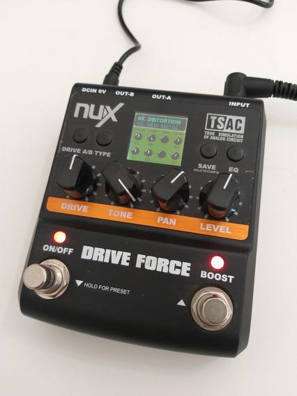 Pedal Guitarra Drive Force Nux
