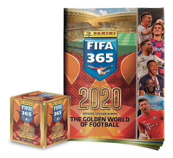 Álbum Fifa 365 2020 + Caja De Estampas (50 Sobres) Panini
