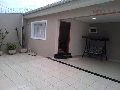 Casa Residencial À Venda, Vila São João Da Boa Vista, Bauru. - Ca2241