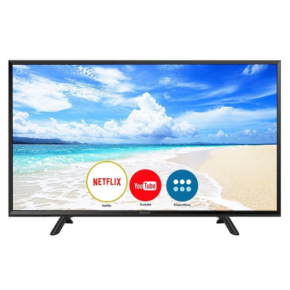 Smart Tv Led 40 Panasonic Tc-40fs600b Full Hd, 1 Usb