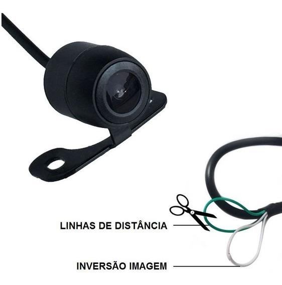 Camera Ré Automotiva Estacionamento Frontal/traseira