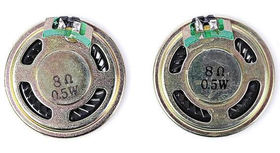 Lote 25 Mini Speaker Alto Falante 0.5w 8ohm Arduino Radio Tv