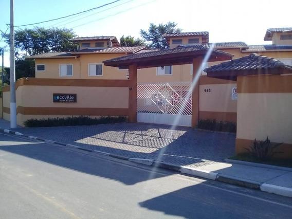 Excelente Sobrado De 2 Dormitórios Em Guararema