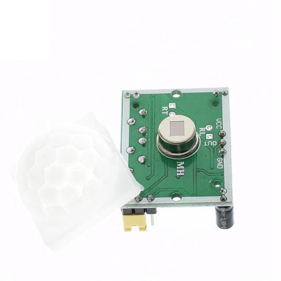 Sensor Presença E Movimento Arduino Sr501 Hc-sr501 (5 Und)